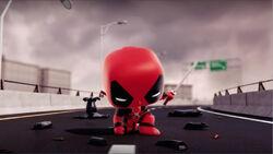 Deadpool Superhero Landing CMCG