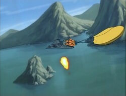 Pilot Escapes Torch-Skrull Attack