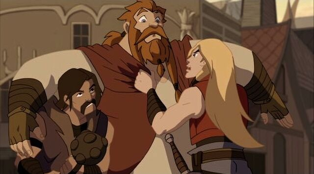 File:Thor Grabs Volstagg TTA.jpg