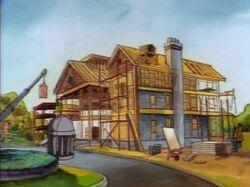 Xavier Mansion Under Construction