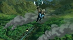 Thor Iron Man Over Wakanda UA2