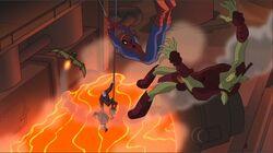 Spider-Man Kicks GG Mill SSM