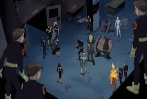 File:X-Men full team up on Brotherhood XME.png