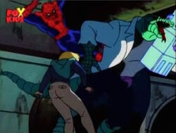 Spider-Man Attacks Lizard