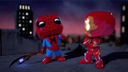 Iron Man Watches Spider-Man Laugh SBD