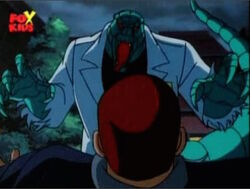 Lizard Attacks Eddie