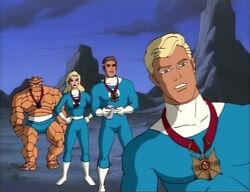 Fantastic Four Watch Skrulls Graze
