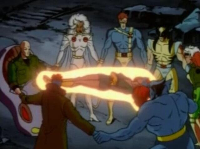 File:The X-Men give life for Jean.jpg