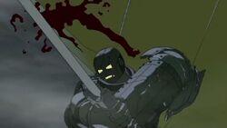 Knight Slashes Stomach IIM