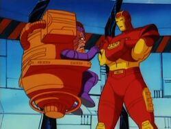 Iron Man Helps MODOK