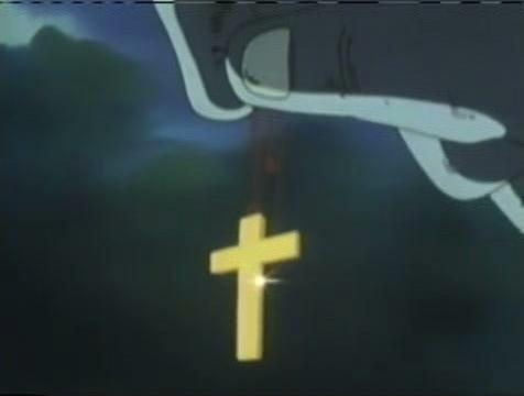 Cross Necklace MOF
