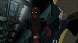 Deadpool Missing Arm HV