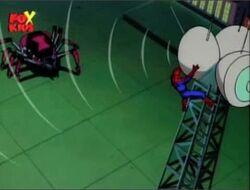 Spider-Man Radios Black Widow II