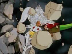 Rogue Catches Storm Genosha Dam Break