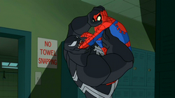 Spidey turns the tables