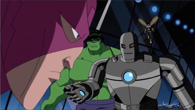 File:Hawkeye Orders Avengers AEMH.jpg