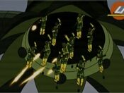 Octo-Bot Deploys Soldiers AEMH