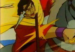 Dracula Slashes Spear DSD