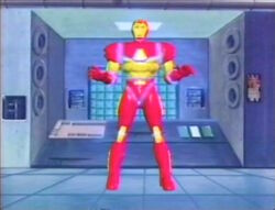 Iron Man Armor First Completion