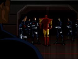 Iron Man Leaves SHIELD AEMH