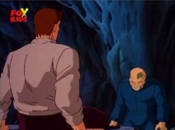 Infected Gargoyle Begs Bruce