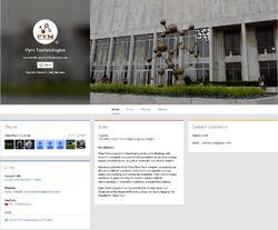Pym Technologies Google Plus