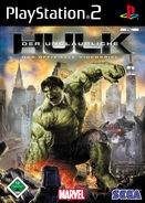 Hulk PS2 DE cover