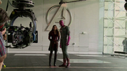 Wanda and Vision - New Avengers Facility (AoU BTS)