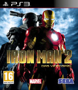 IronMan2 PS3 Aust cover