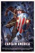Captain America The First Avengers Mondo poster 2