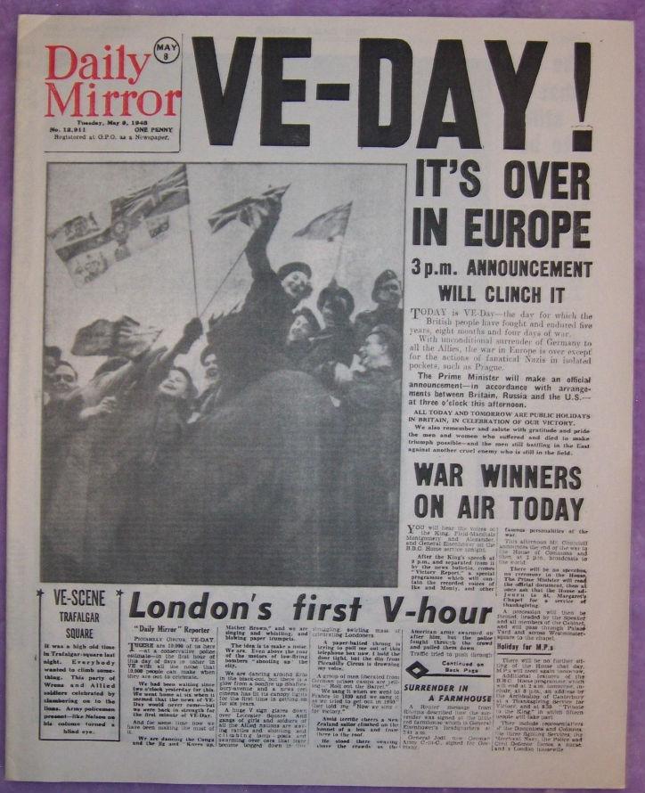 Image - Captain-America-The-First-Avenger-VE-Day-Newspaper-1.jpg ...
