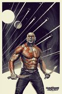 Drax illustrated poster