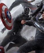 Panther vs Bucky