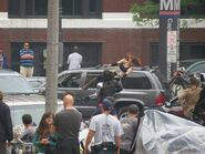 Film set pic Captain America 2 08