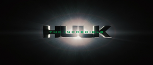 The Incredible Hulk Title Card (2008)