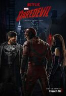 Daredevil Season 2 Trio Poster
