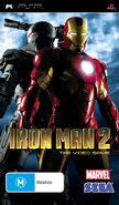 IronMan2 PSP AU cover