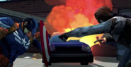 Cap vs Winter Soldier video game