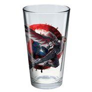 Civil War Falcon glass