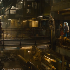 Thor y el equipo se reencuentra con Ultrón.