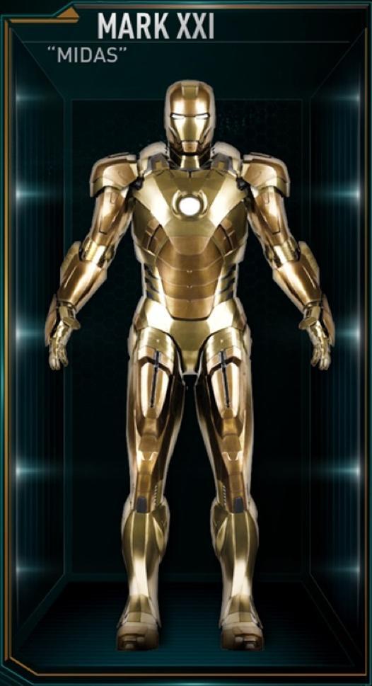 Iron Man Armor: Mark XXI | Marvel Cinematic Universe Wiki ...