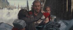 Thor-HoldingJFoster-AsgardEscape