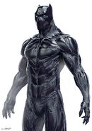 Black Panther Concept Art 2