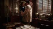 Peggy kisses Daniel Sousa