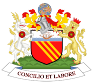 Coat of arms of Manchester City Council