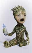 Baby Groot concept art 2