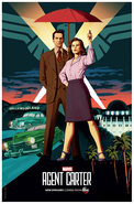 Agent Carter S2 Comic-Con Poster
