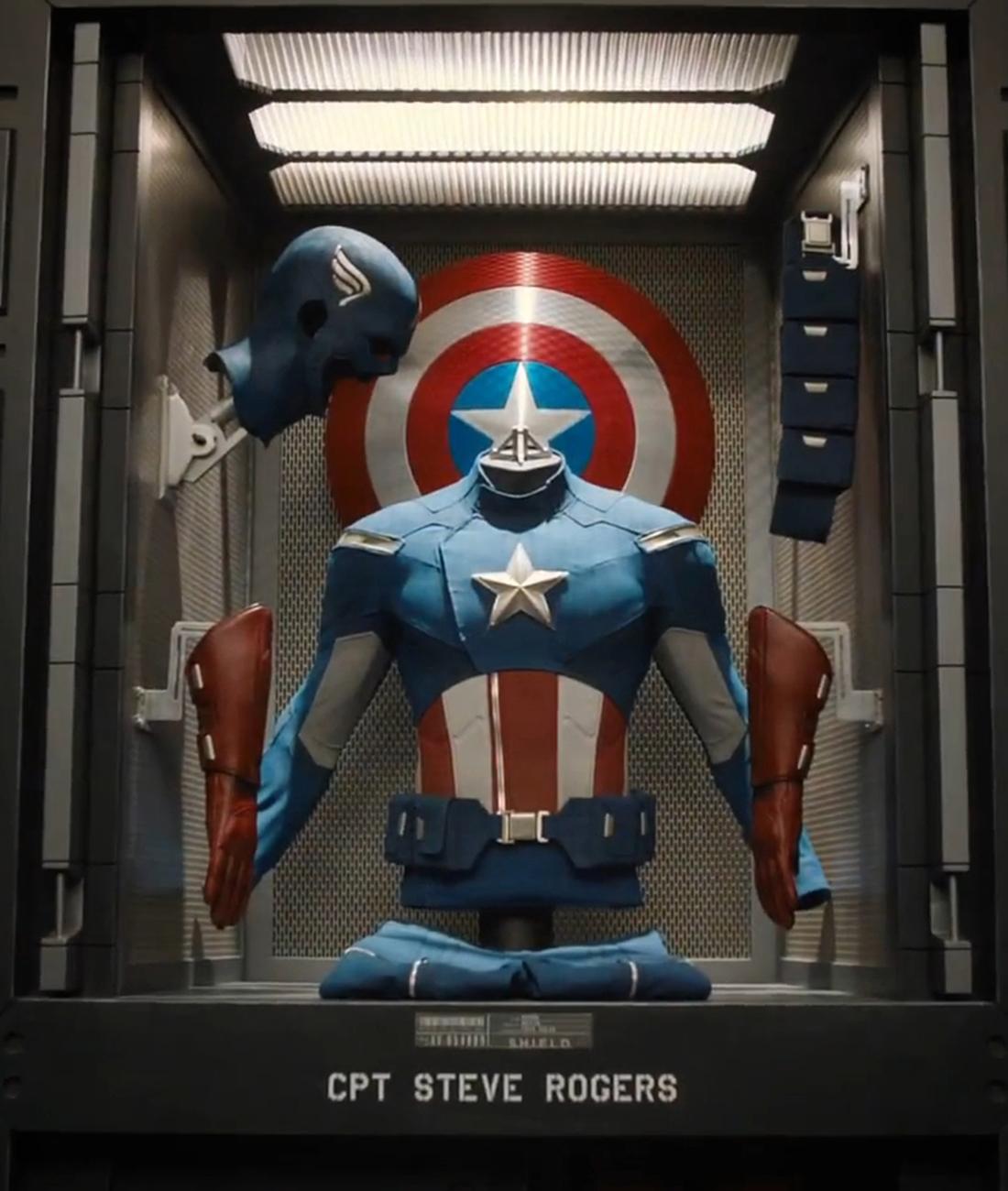 uniforme del capit225n am233rica marvel cinematic universe