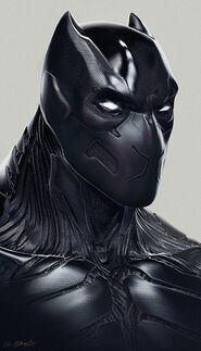 Black Panther Concept Art 4