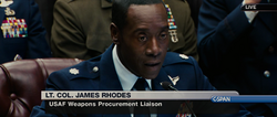 Lt. Col. James Rhodes (Senate Hearing - IM2)